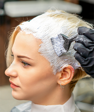 Hair colouring services in Headingley