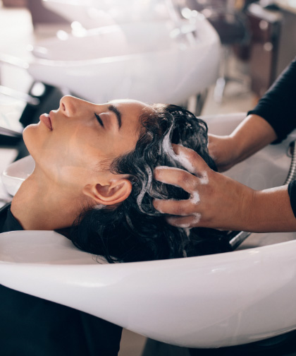 Hair wash cut and styling services in Headingley
